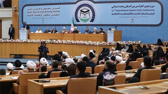 Photo of Iran's President Rouhani calls zionist regime malicious tumour