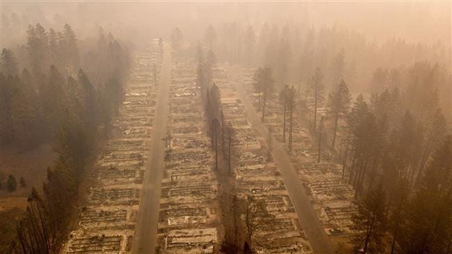 Photo of California fire: More than 1000 missing, 71 dead