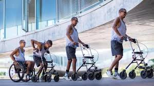 Photo of Wheelchair-bound men walk again after receiving new spinal implant