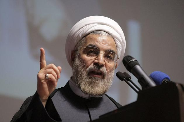 "Photo of Rouhani: ""We'll Rub US' Nose in the Dirt"""