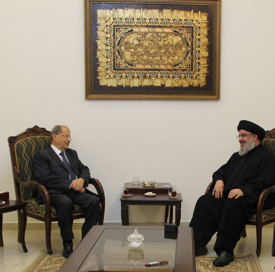 Photo of Lebanon's Presidential Sources Deny Circulated Reports about Tension with Hezbollah: Al-Manar