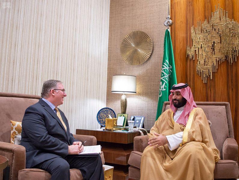 Photo of Zionit Bin Salman Receives Trump's Pro-Zionist Evangelical Advisers in Riyadh