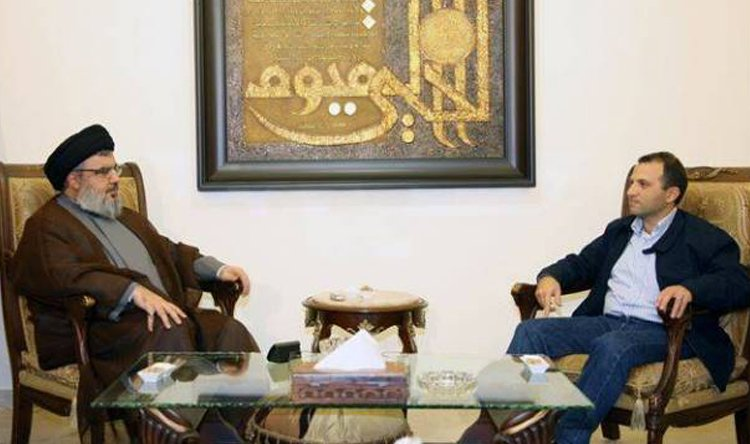 Photo of Sayyed Nasrallah Receives Bassil, Gov't Formation on Table