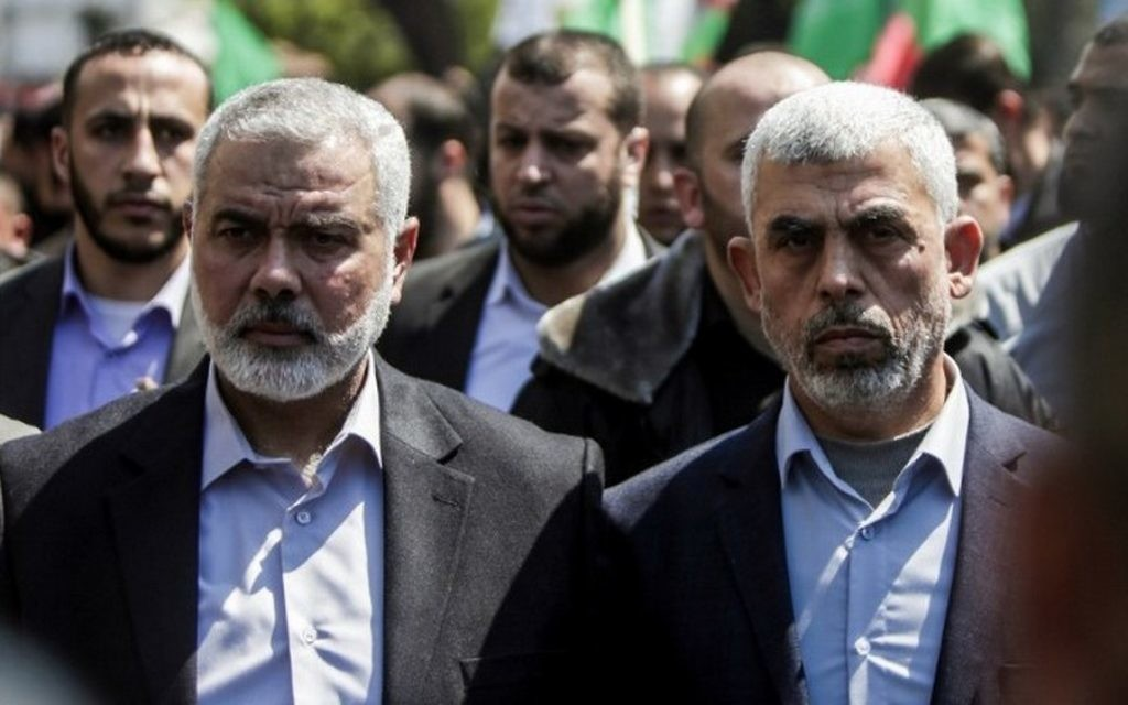 Photo of Hamas's Sinwar to 'israel': Don't test us again! Next target will be so-called zionist capital Tel-Aviv