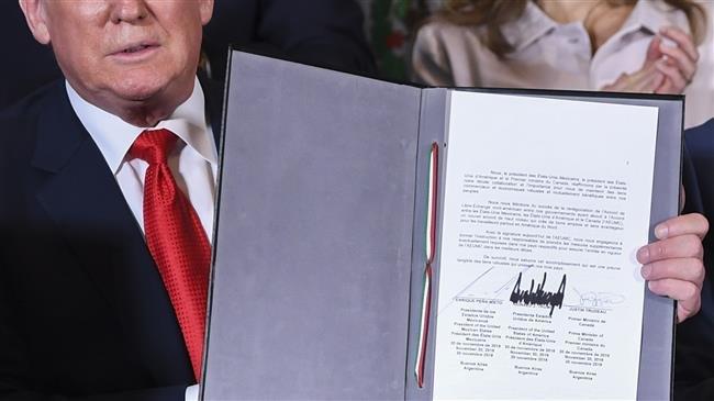Photo of Trump to notify Congress he will terminate NAFTA