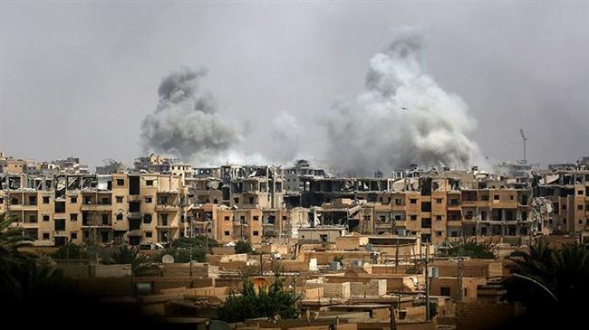 Photo of Satanic US-led coalition strikes in Syria's Dayr al-Zawr kill 206 civilians in November