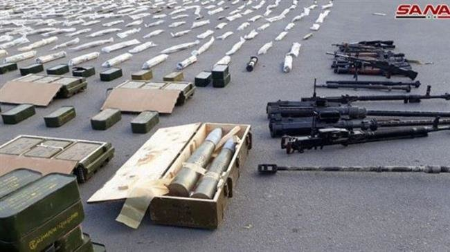 Photo of Syria uncovers new caches of US-made arms, anti-tank TOW missiles included