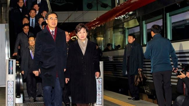 Photo of Two Koreas hold groundbreaking rail project ceremony