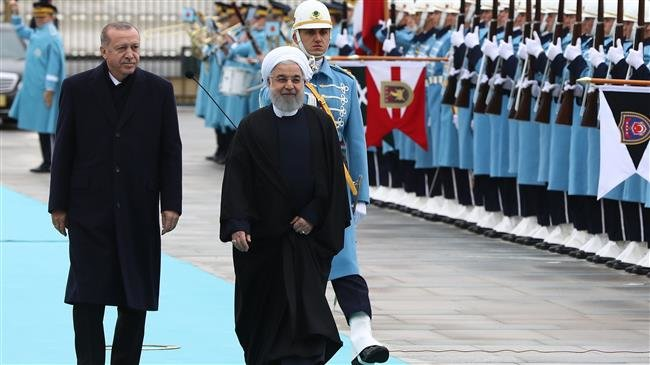 Photo of Erdogan officially welcomes Iran's Rouhani