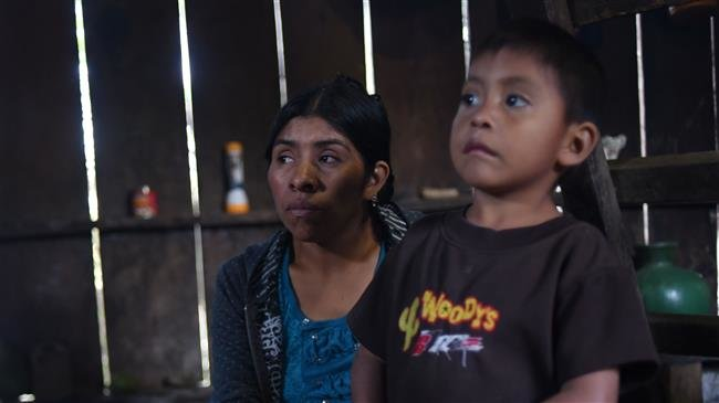 Photo of Guatemalan mother: My son was healthy on trek to US