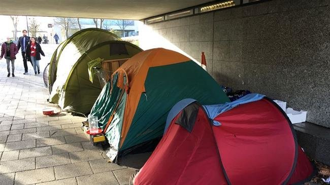 Photo of UK homelessness doubles, hits record high: Study