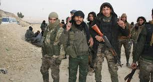 Photo of Turkish-backed terrorists retreating from Manbij says reports