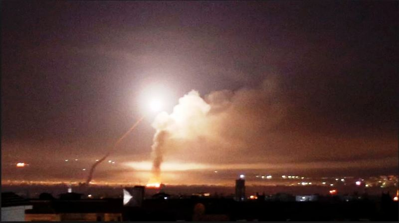 Photo of Syrian air defense thwarts attacks on Damascus airport last night