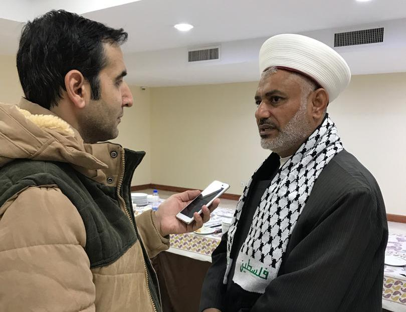 Photo of Palestinian scholar: Saudi regime supporting Zionist Regime