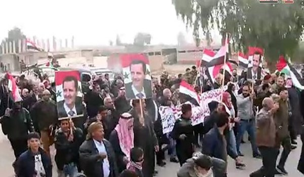Photo of Vast Popular Protest Reported in Northeastern Syria against Foreign, Turkish forces