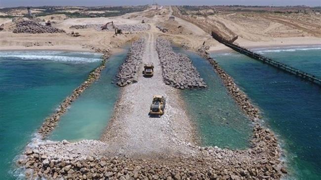 Photo of Inhuman Israeli regime almost completes 'sea barrier' off Gaza