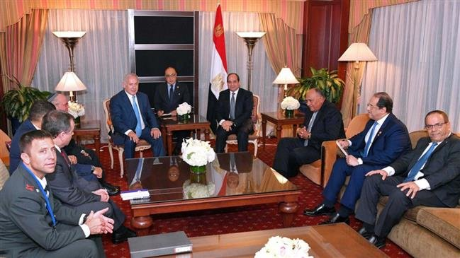Photo of Zionist Sisi admits cooperation with Israel 'closest, deepest' than ever before