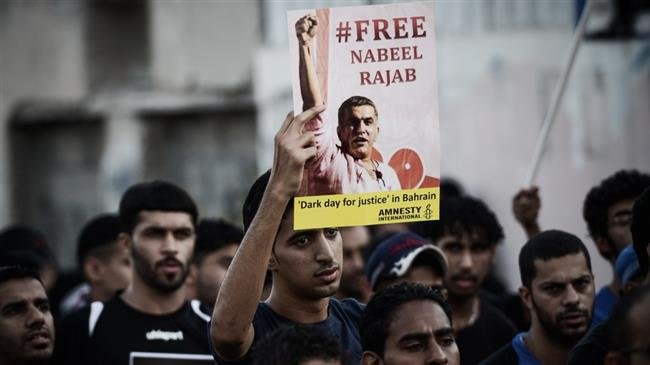 Photo of International rights groups denounce Bahrain ruling on Rajab's jail sentence