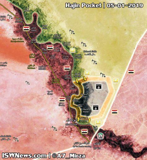 Photo of Last ISIS pocket east of Euphrates nearly eliminated