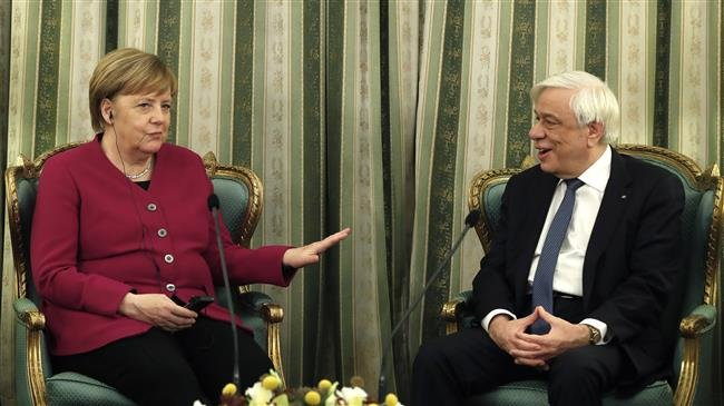 Photo of Merkel says Germany 'takes total responsibility' for Nazi crimes in Greece