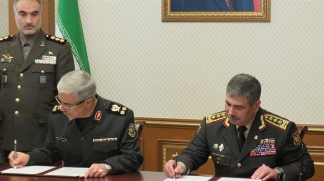 Photo of Iran, Azerbaijan sign agreement on defense cooperation