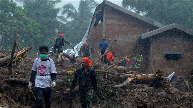 Photo of Scores killed after floods, landslides, tornado hit Indonesia