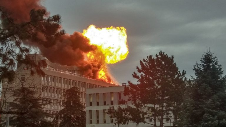 Photo of Several Injured in Gas Explosion in Lyon University