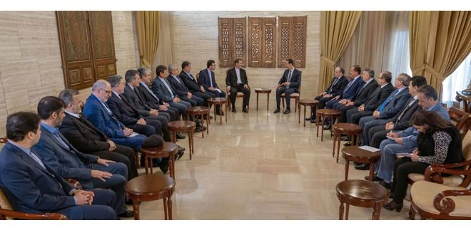 Photo of President Assad: Syria-Iran Agreements Have Strategic and Economic Importance