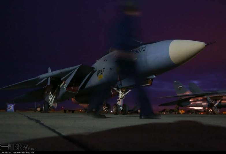 Photo of Iranian Air Force bombers operate night surprise operations