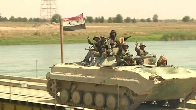 Photo of Syrian Army pushing to take over 20km buffer zone in northwest Syria