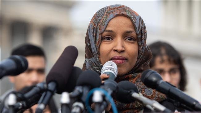 Photo of Muslim Congresswoman Ilhan Omar tells Trump 'you have trafficked in hate your whole life'
