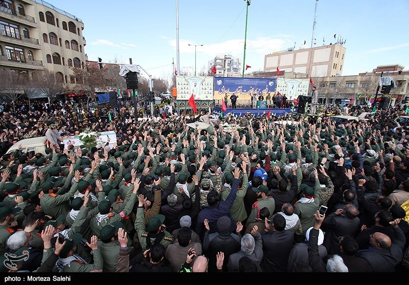 Photo of PHOTOS: Funeral of IRGC Forces Held in Iran's Isfahan