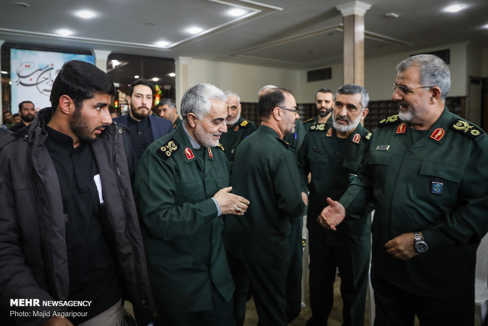 Photo of PHOTOS: IRGC holds ceremony to commemorate 'Martyrs of Security'