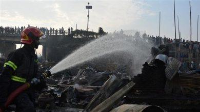 Photo of Devastating fire in Bangladeshi capital kills scores of people