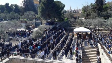 Photo of 40,000 Palestinians perform Friday prayer at Aqsa