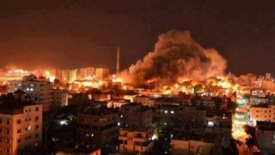 Photo of Zionist Regime's warplanes bombarded Jabaliya and Khan Younis in Gaza