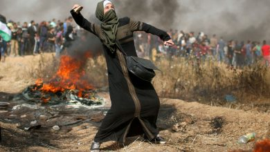 Photo of Palestinians hold 50th March of Return protests in Gaza