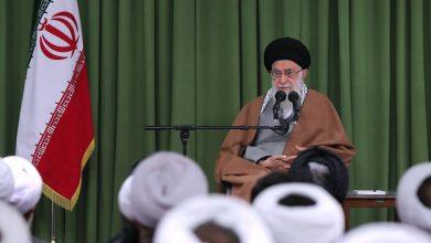Photo of Supreme Leader receives members of High Institute of Jurisprudence, Islamic Sciences