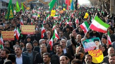 Photo of Iranians hold nationwide rallies to express support the IRGC following its blacklisting by the US