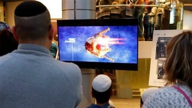 Photo of Zionist regime's so-called moon-landing mission fails while being broadcast live