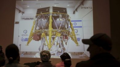 Photo of Zionist Regime Disappointed with Spaceship Crash