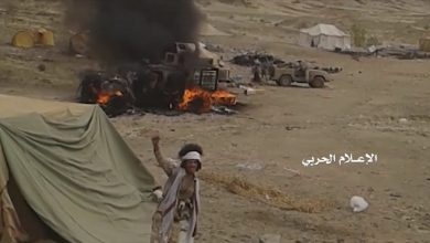 Photo of Houthi Forces captured strategic area