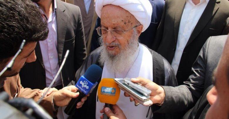 Photo of Ayatollah Shirazi says Imam Khomeini's initiative caused Palestinian cause to survive