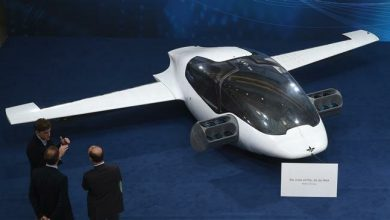 Photo of Jet-powered flying taxi unveiled following first flight
