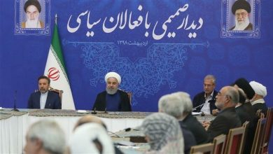 Photo of Rouhani calls US anti-Iran campaign 'all-out war'