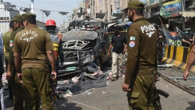 Photo of Blast targeting police checkpoint kills 9 in Pakistan's Lahore
