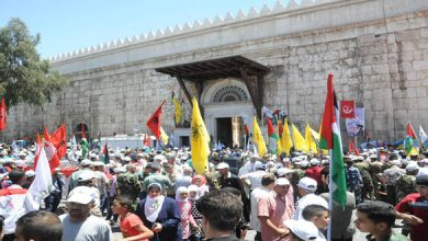 Photo of Massive Rally in Damascus to Commemorate al-Quds Day