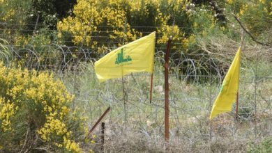 Photo of Hezbollah Flag on Lebanon's Border Terrifies Israeli Occupation Soldiers: Photos