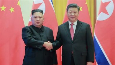 Photo of China's Xi meets with North Korea's Kim in Pyongyang