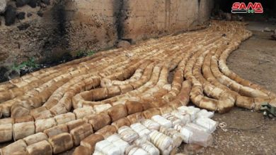 Photo of Dara'a: 4 Tons of US-Made C-4 Explosive Substance Discovered by Syrian Army in Former ISIL Base